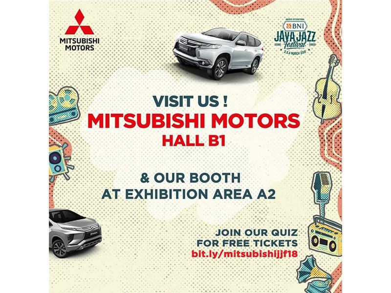 Mitsubishi Hadir di Java Jazz 2018