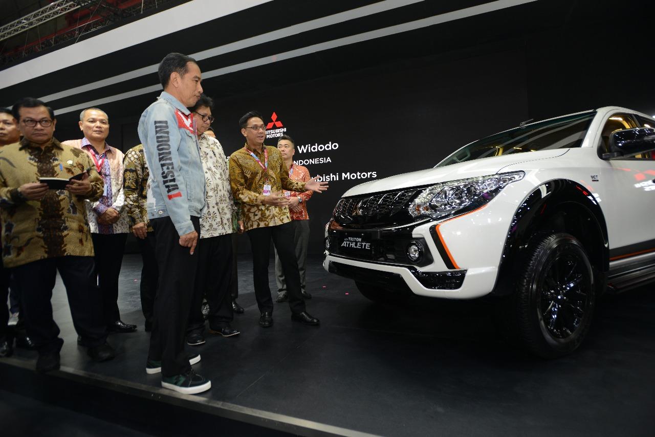 Banyak Keseruan di Booth Mitsubishi di Ajang IIMS 2018