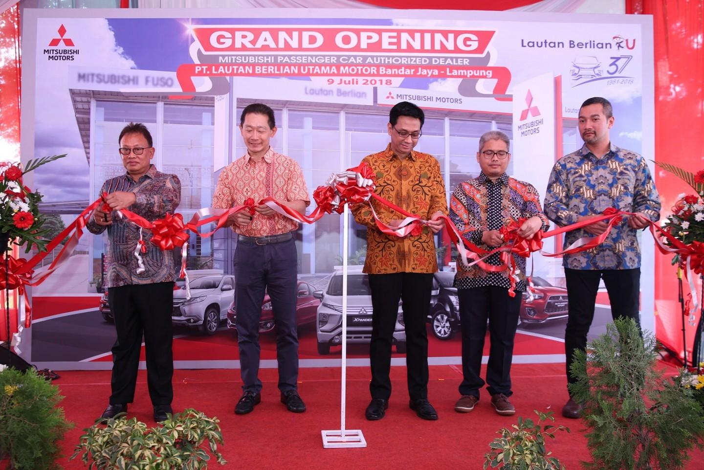 Mitsubishi Motors Resmikan Diler Kendaraan Penumpang ke-117 di Indonesia