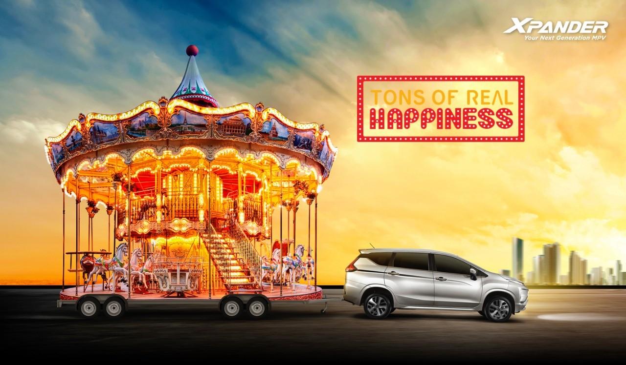 Mitsubishi Xpander Bawa Kebahagiaan ke 9 Kota di Indonesia