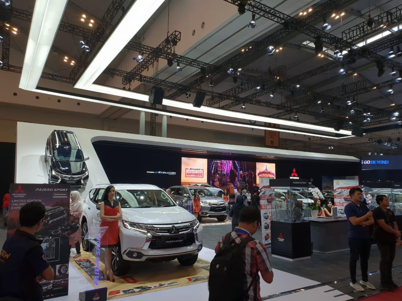 Mitsubishi Motors Hadirkan Line Up Lengkap di GIIAS 2018