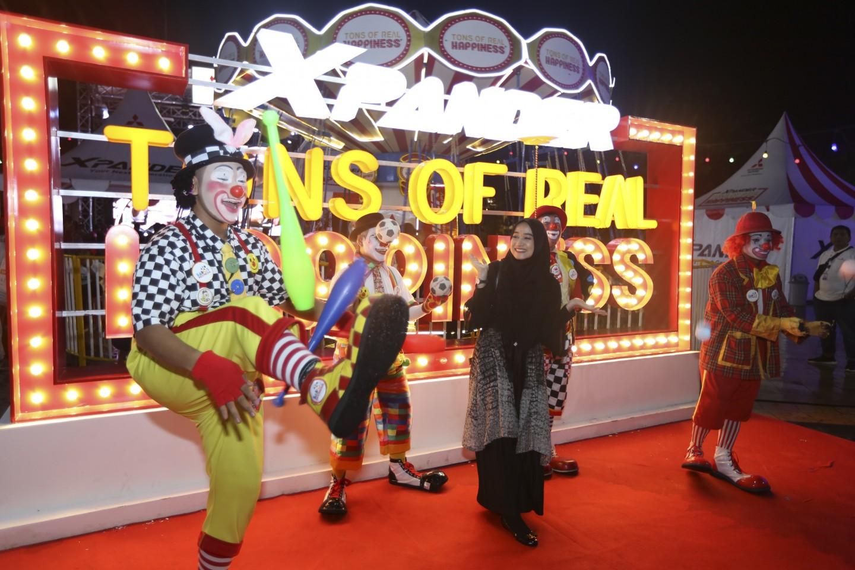 Mitsubishi XPANDER Tons of Real Happiness Hibur Masyarakat Pekanbaru