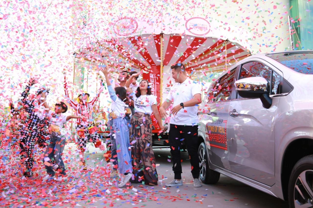 Mitsubishi XPANDER Berbagi Kebahagiaan di Palembang