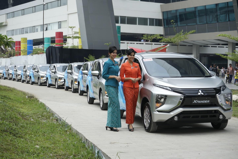 Mitsubishi XPANDER Jadi Mobil Awak Kabin Garuda Indonesia