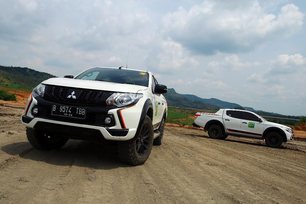 Unjuk Pesona dan Performa Mitsubishi Triton di Rembang