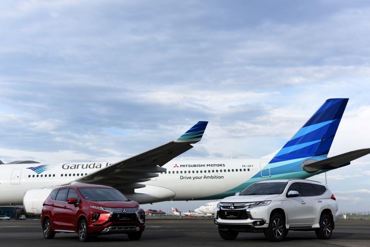 FLY HIGH! Mitsubishi Perkuat Kerjasama Dengan Garuda Indonesia