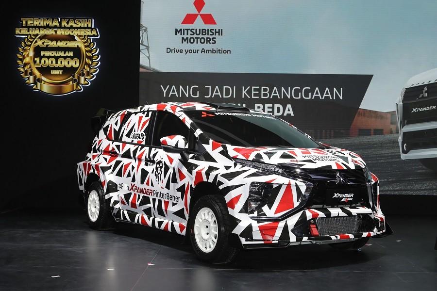 Mitsubishi XPANDER AP4 Concept, Mobil Keluarga yang Siap Ikut Rally