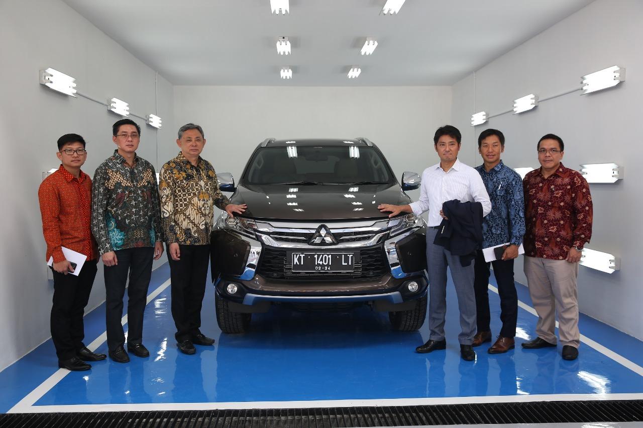 Fasilitas Bodi dan Cat Mitsubishi Pertama di Kalimantan Timur
