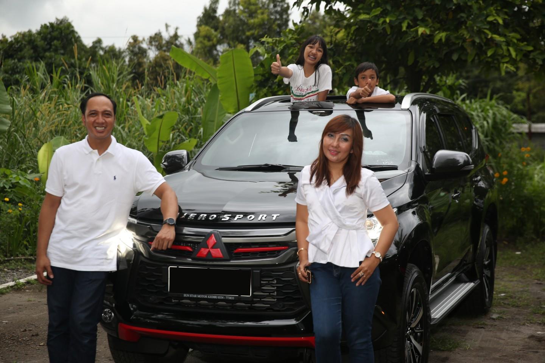 Mitsubishi Family Story: Mitsubishi Pajero Sport Paling Lengkap di Kelasnya