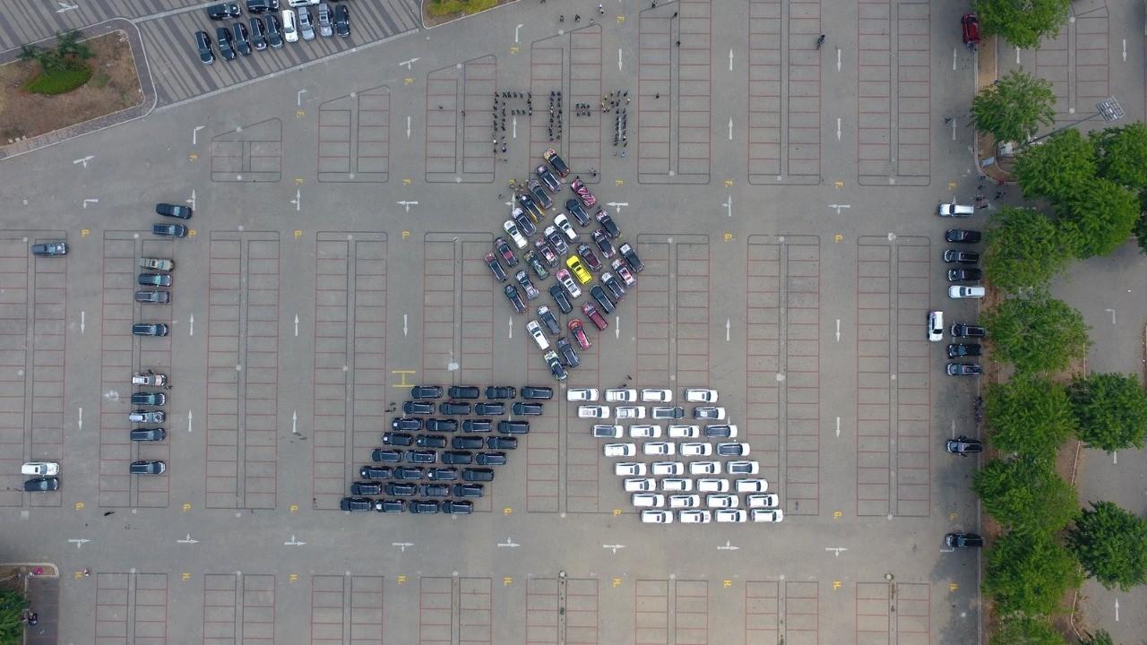 Ratusan Mitsubishi Pajero Sport Berkumpul di Tangerang