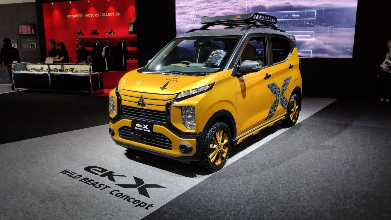 Tokyo Auto Salon 2020 - Mitsubishi Bawa Line Up Modifikasi