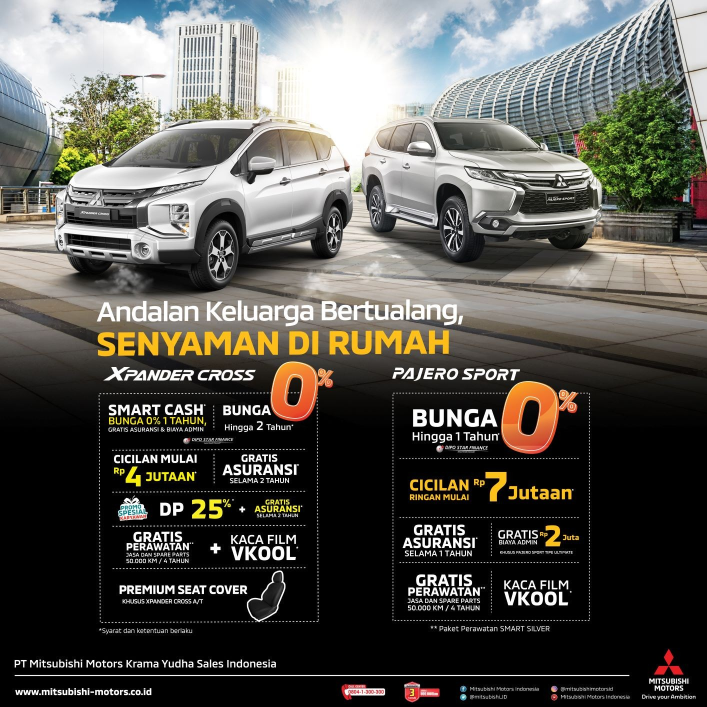 Program Penjualan Mitsubishi Motors di Bulan September 2020