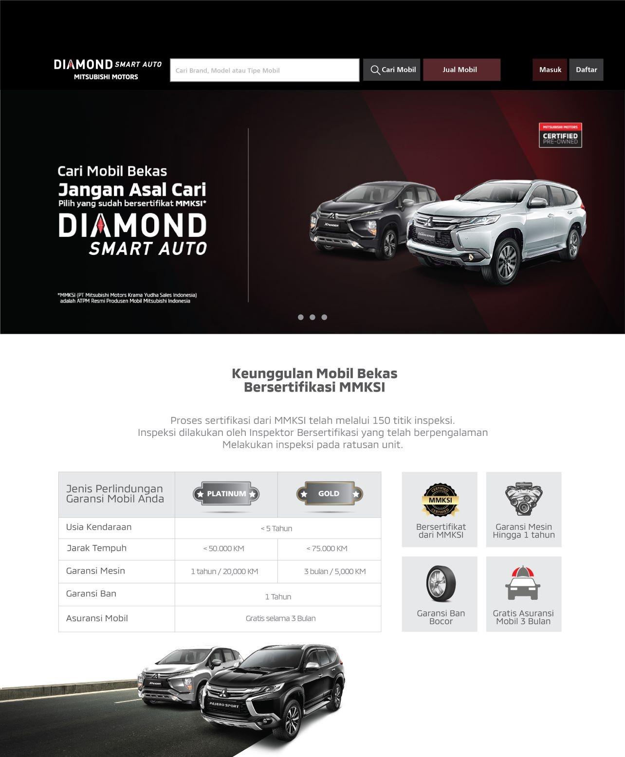 MMKSI Luncurkan Layanan Jual Beli Mobil Bekas Bersertifikat Diamond Smart Auto