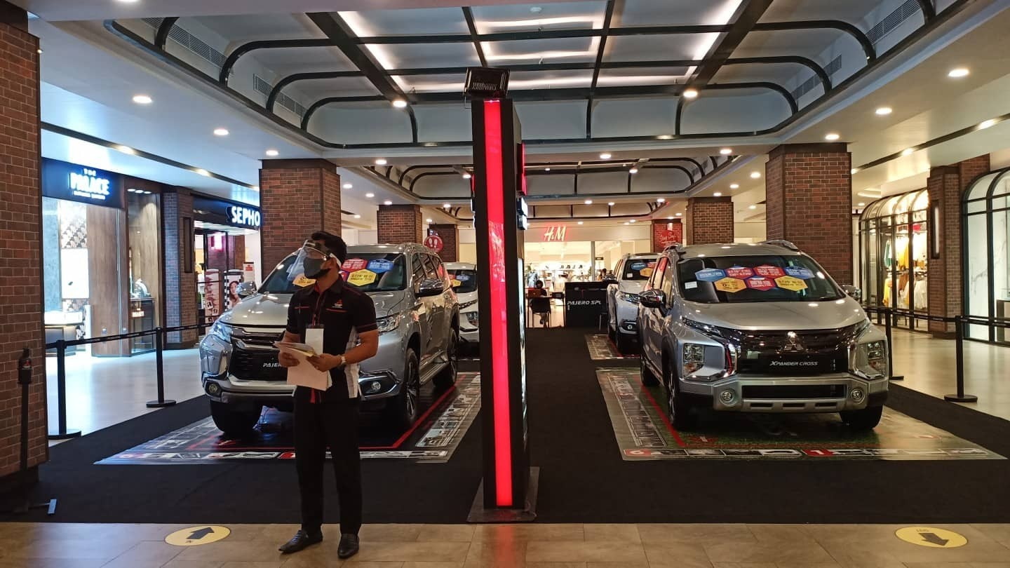 JADWAL PAMERAN MITSUBISHI MOTORS SEPTEMBER 2020