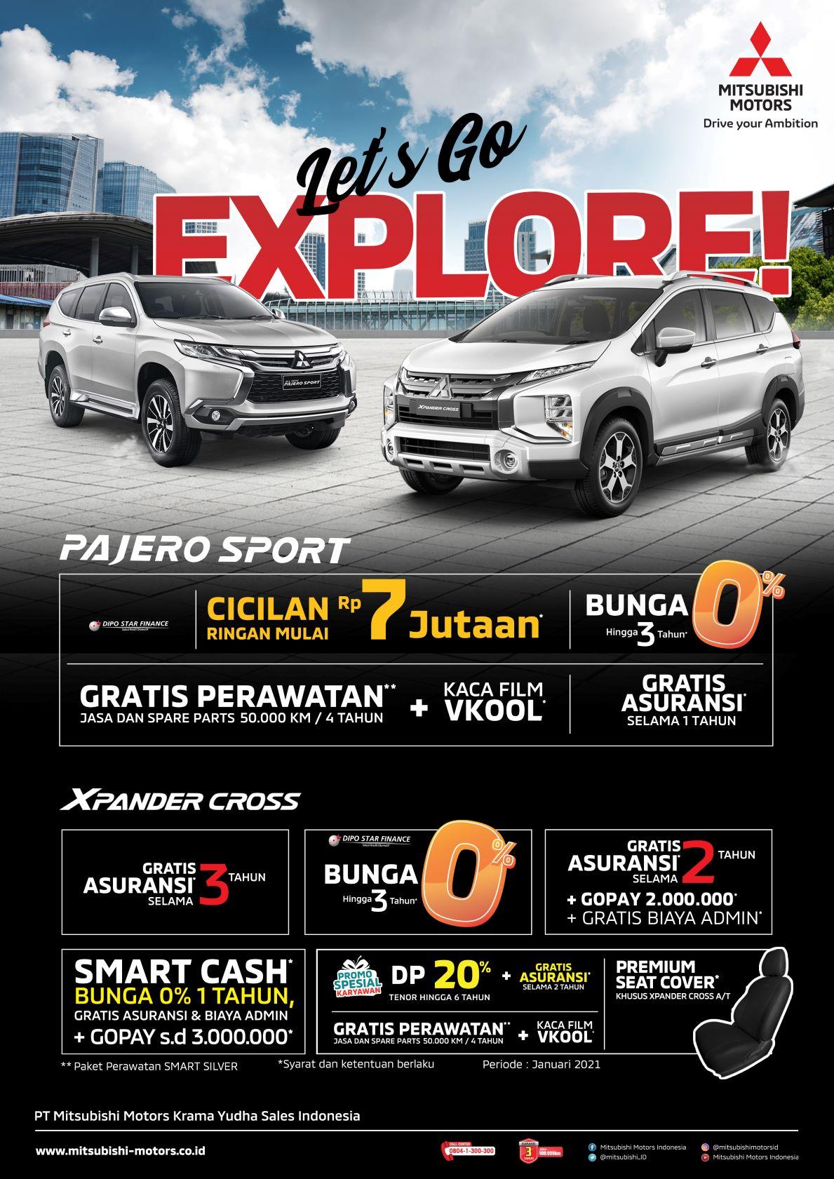 Ragam Program Menarik Awal Tahun Dari Mitsubishi Motors