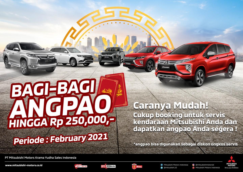 """Mitsubishi Bagi – Bagi Angpao"", Ramaikan Perayaan Hari Raya Imlek Konsumen Mitsubishi di Indonesia"