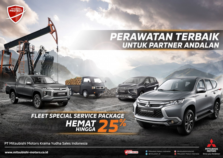 "Mitsubishi Motors Luncurkan Program ""Fleet Service Package"" Untuk Permudah Konsumen Fleet"