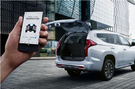 Manfaat Fitur Mitsubishi Remote Control Terkoneksi Smartphone Pada New Pajero Sport