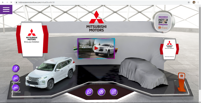 Partisipasi Mitsubishi Motors di Ajang IIMS Virtual 2021