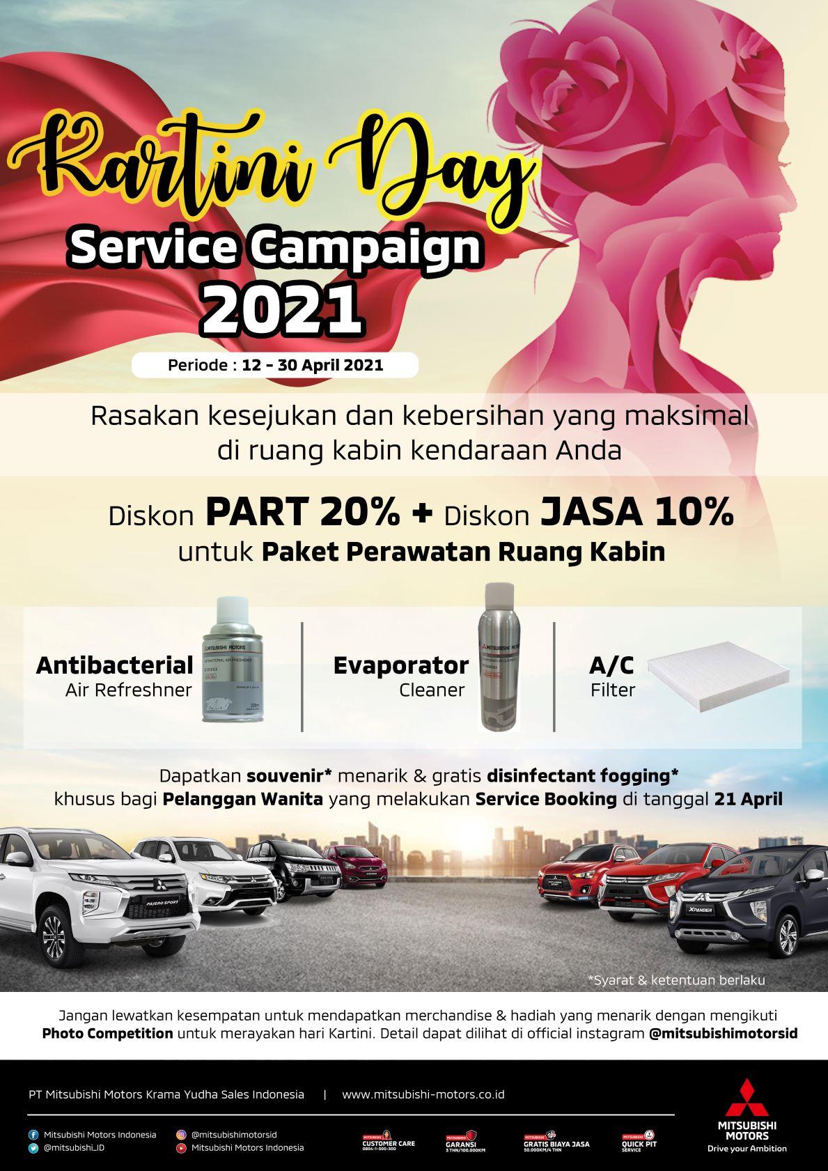 """Sambut Hari Emansipasi Wanita di Indonesia, MMKSI Hadirkan """"Kartini Campaign"""""""