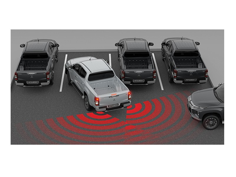Rear Cross Traffic Alert (RCTA