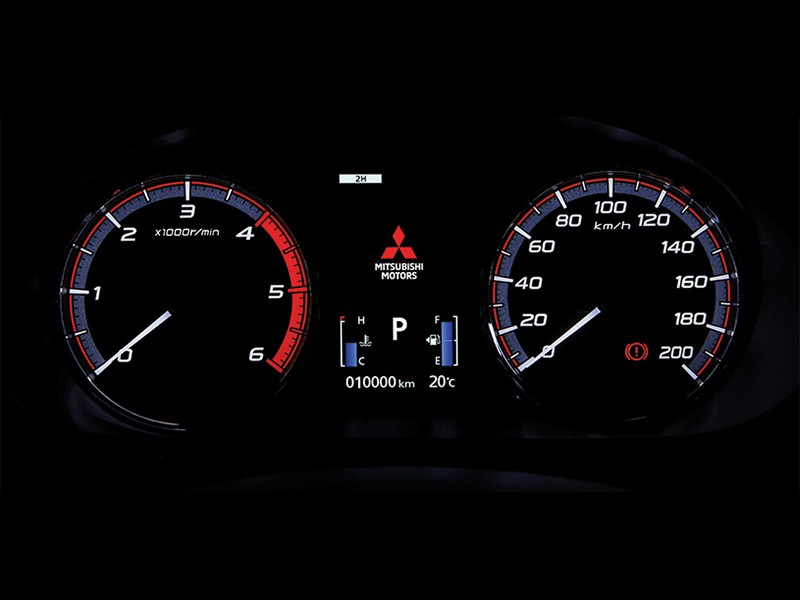 Multi Information LCD Display and Speedometer High-Contrast