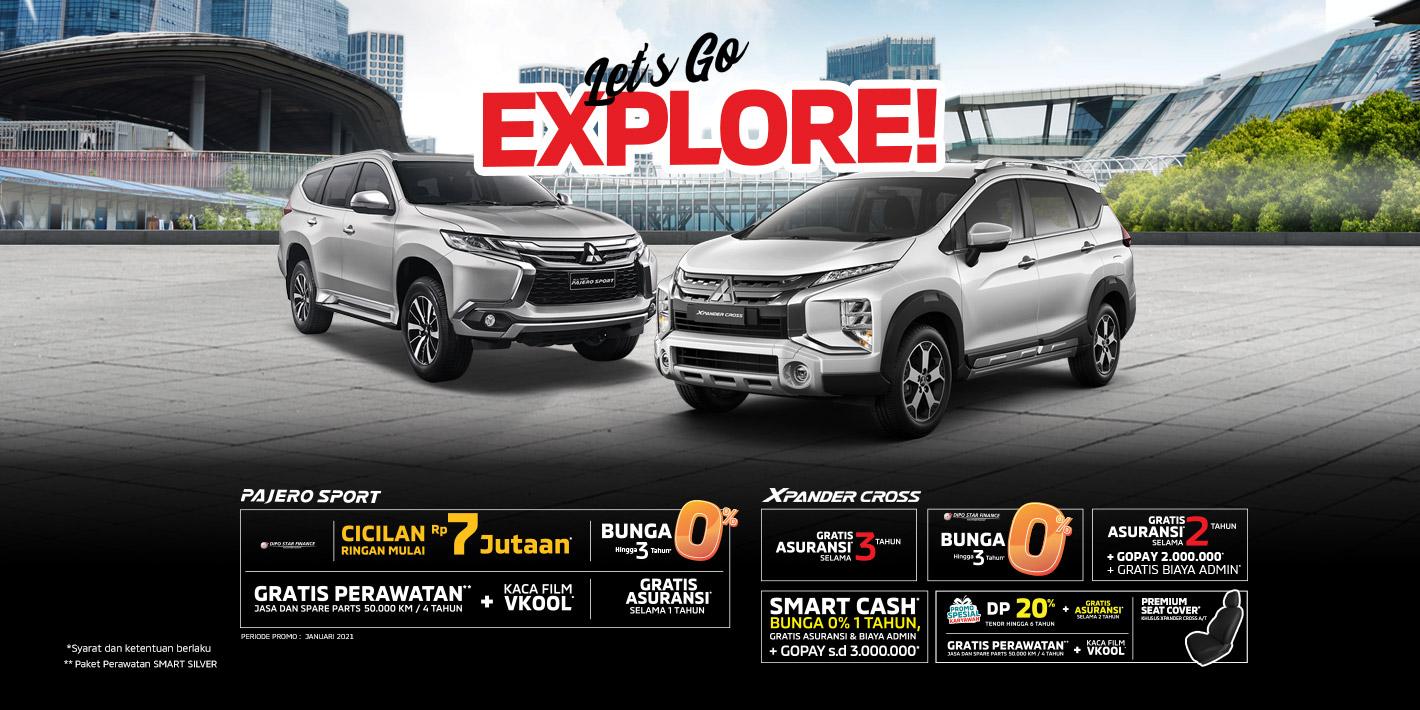 Program Penjualan Mitsubishi Motors Januari 2021