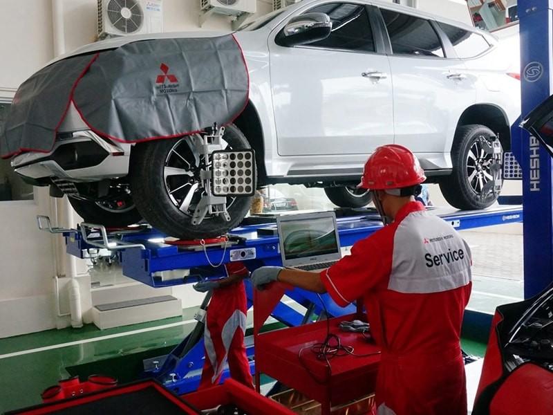 Kampanye Perbaikan Mitsubishi Pajero Sport di Indonesia