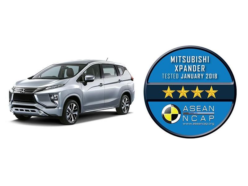 Mitsubishi Xpander Raih Rating 4 Bintang Dari ASEAN NCAP