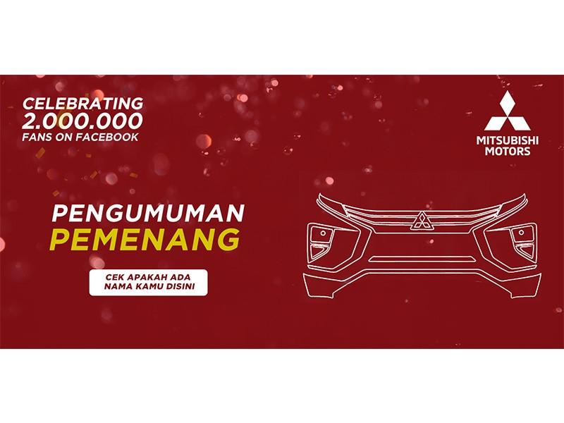 Pengumuman Pemenang Mitsubishi Dua Juta Fans