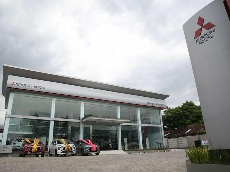 Mitsubishi Tambah Diler Baru Dan Fasilitas Bodi & Cat
