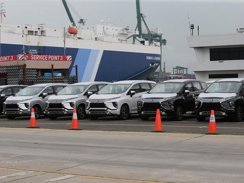 Ekspor Perdana Mitsubishi Xpander Ke Filipina