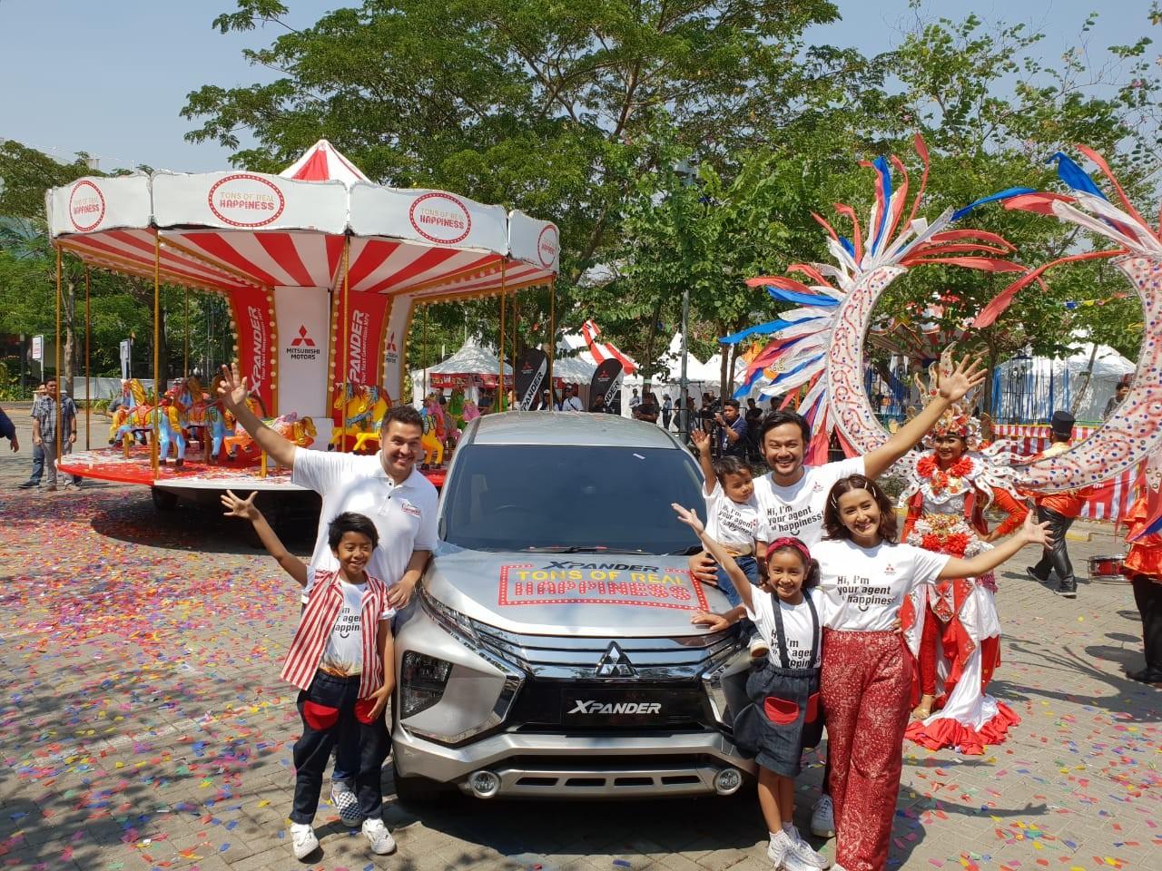 Xpander Berbagi Kebahagiaan di 9 Kota di Indonesia