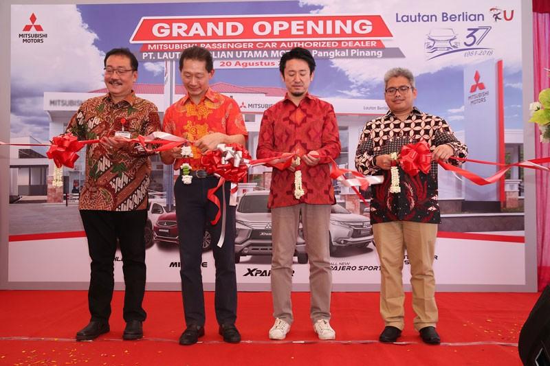 Mitsubishi Motors Resmikan Diler Kendaraan Penumpang Pertama di Pangkal Pinang