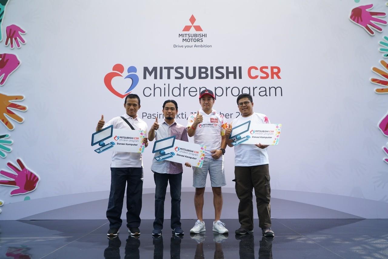 Mitsubishi Motors Berbagi Dengan Anak-Anak Yatim Piatu Dalam Mitsubishi Children Program