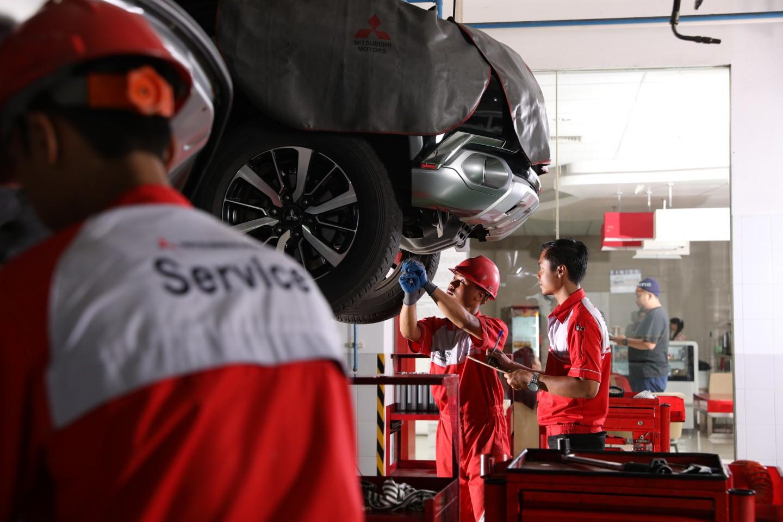 Kampanye Perbaikan Mitsubishi DELICA & OUTLANDER SPORT di Indonesia