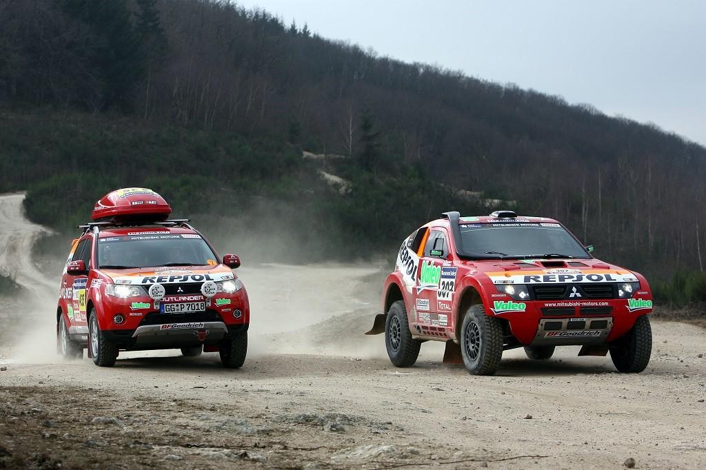 Mobil Mitsubishi yang Berlomba di Kancah Rally Dunia
