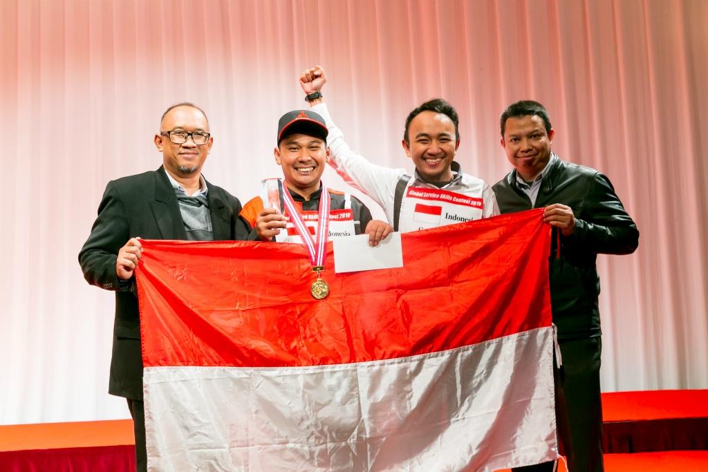 Teknisi Mitsubishi Indonesia Meraih Gelar Best Mechanic di Jepang