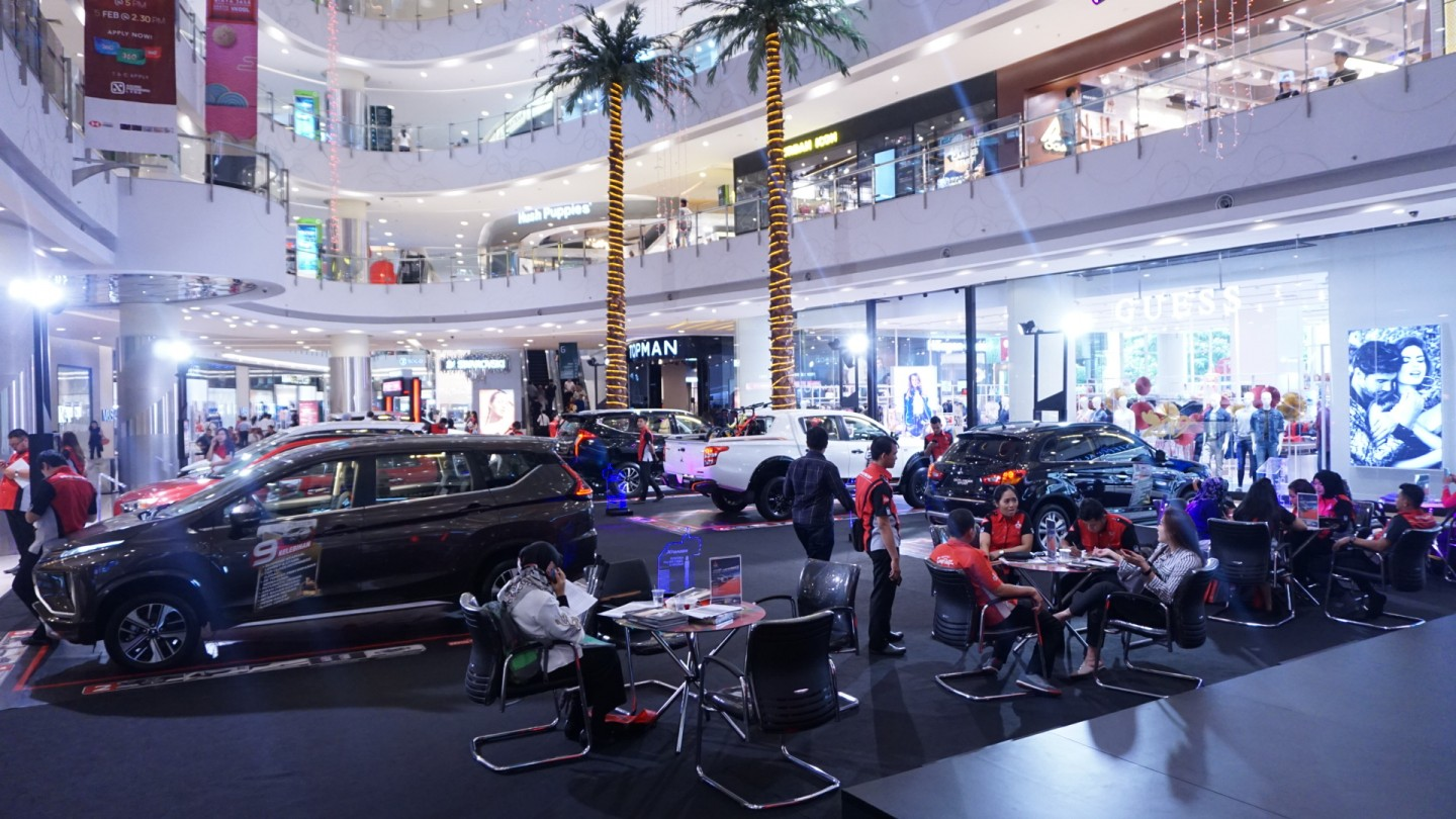 JADWAL PAMERAN MITSUBISHI MOTORS APRIL - MEI 2019