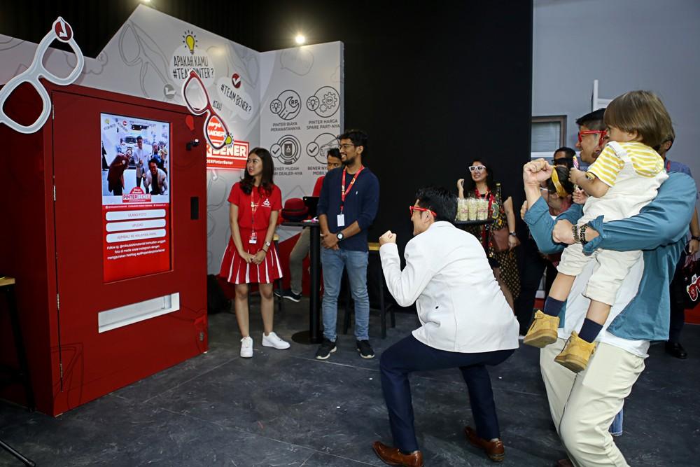 Ini Aktivitas Super Seru di Booth Mitsubishi di Telkomsel IIMS 2019