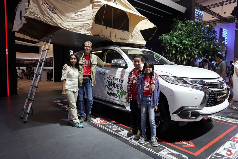Journey of Wonder – Perjalanan Keluarga Petualang Berkeliling Dunia Dengan Mitsubishi PAJERO SPORT