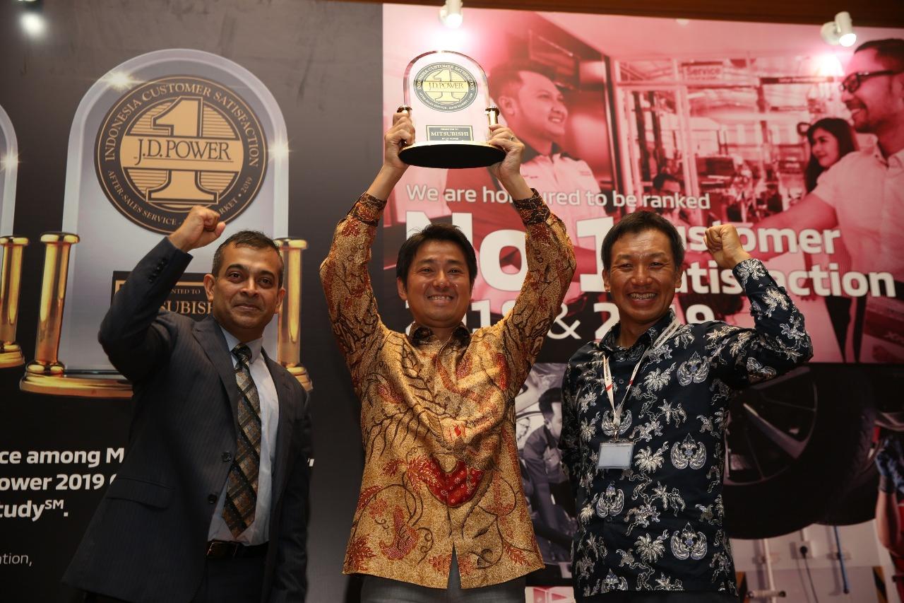 Mitsubishi Raih Peringkat Tertinggi Dalam Hal Layanan kepada Konsumen
