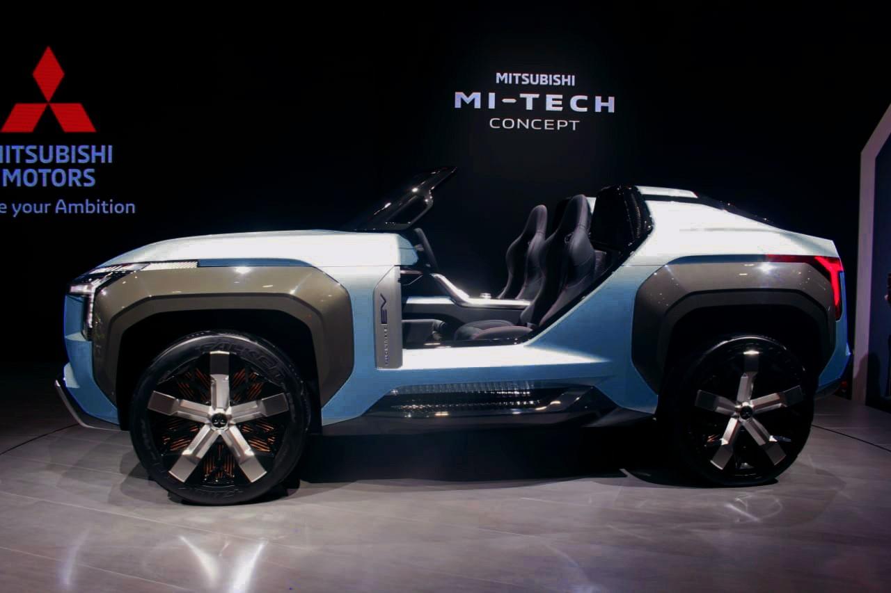 Debut Dunia Mitsubishi MI-TECH Concept di Tokyo Motor Show 2019