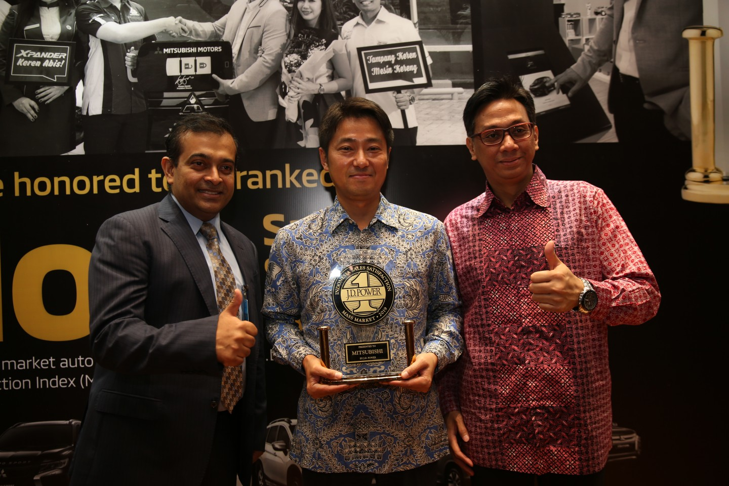 Mitsubishi Raih Peringkat Tertinggi Indonesia Sales Satisfaction Index  dan Customer Satisfaction Index J.D. Power 2019