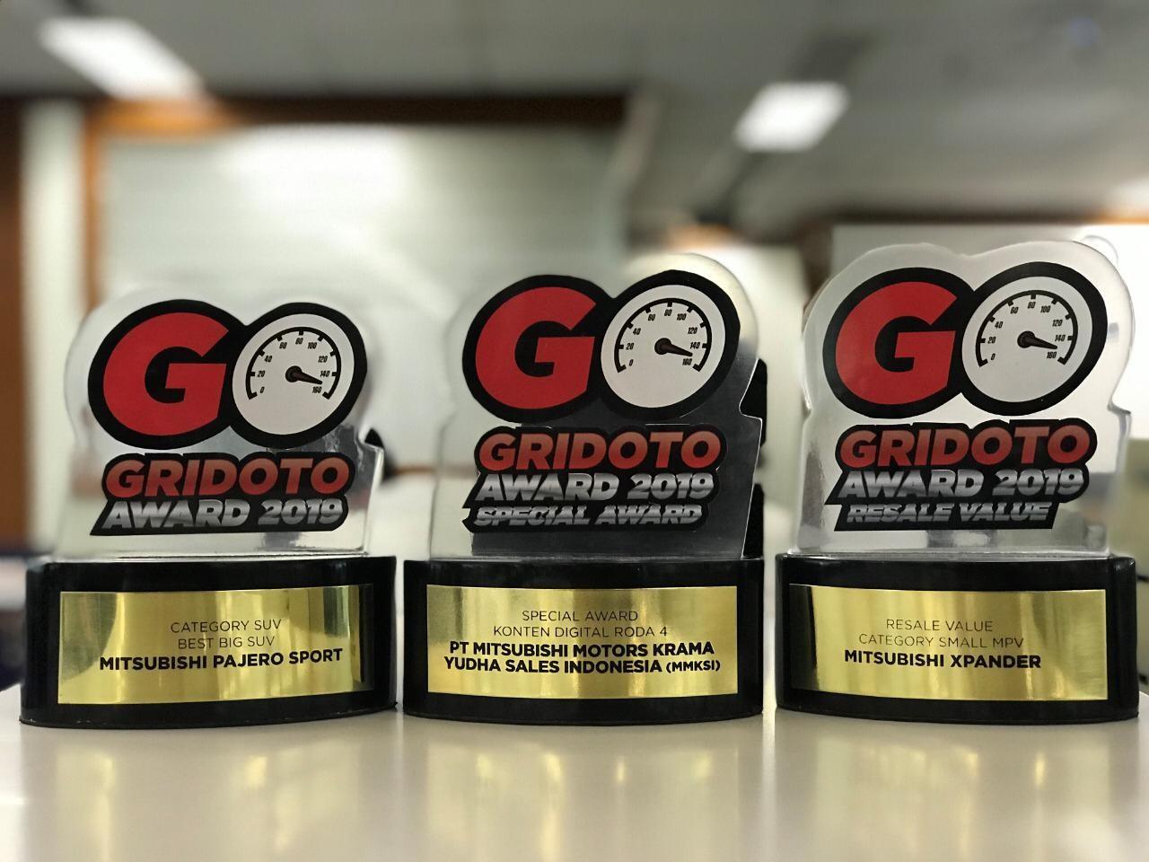 Mitsubishi Raih 3 Penghargaan dari GridOto Award