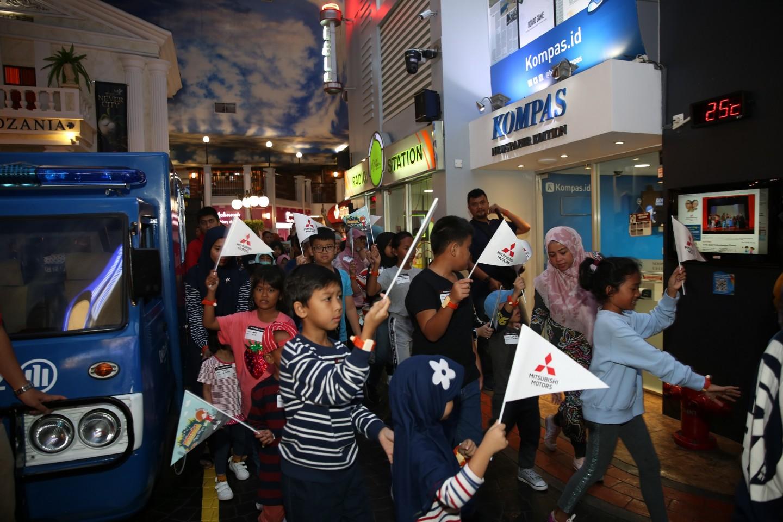 Mitsubishi Ajak Anak-Anak Lebih Dekat dengan Dunia Otomotif di KidZania Jakarta