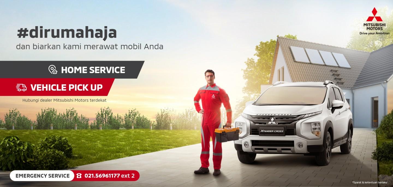 #DiRUmahAja dan Manfaatkan Layanan Home Service Mitsubishi Motors