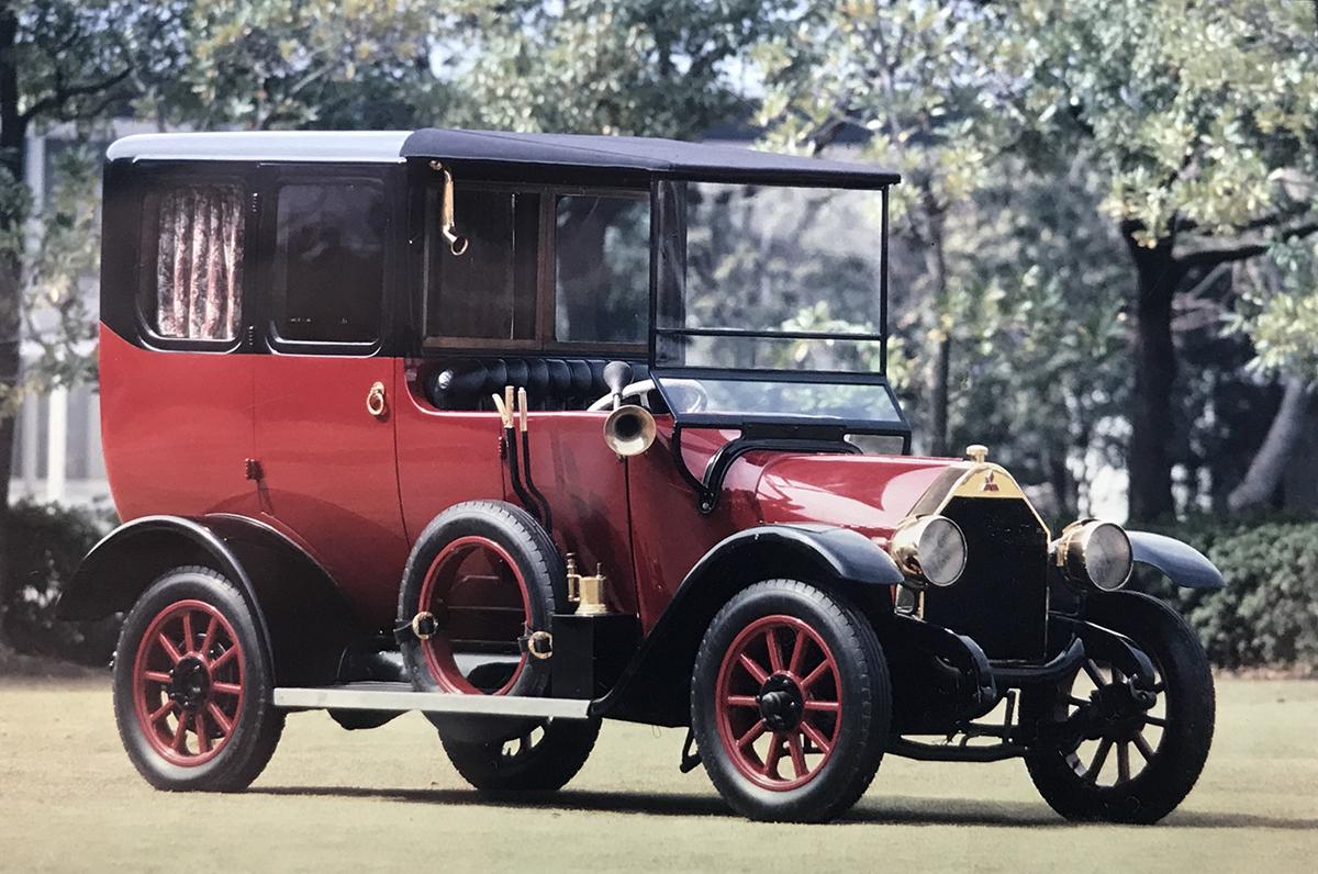 Model A, Mobil Mitsubishi Pertama Sekaligus Mobil Penumpang Pertama di Jepang