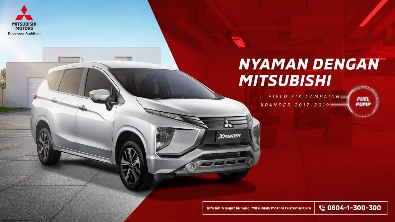 Kampanye Perbaikan Komponen Pompa Bahan Bakar Untuk Mitsubishi XPANDER di Indonesia