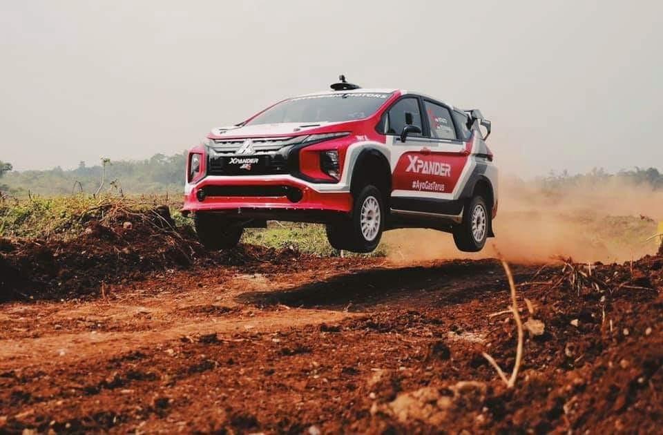 MPV Reli Pertama di Dunia, Xpander AP4 Dites Perdana oleh Rifat Sungkar